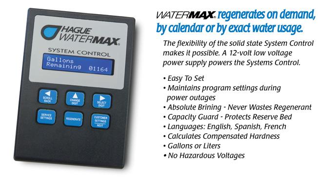 Hague Watermax Owners Manual Manual Guide
